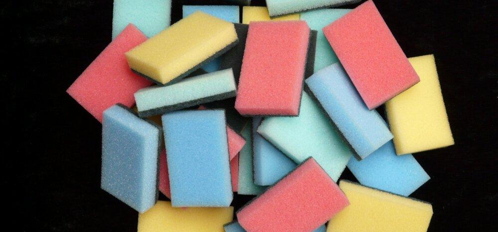 Зачем губки для мытья посуды делают всех цветов радуги?