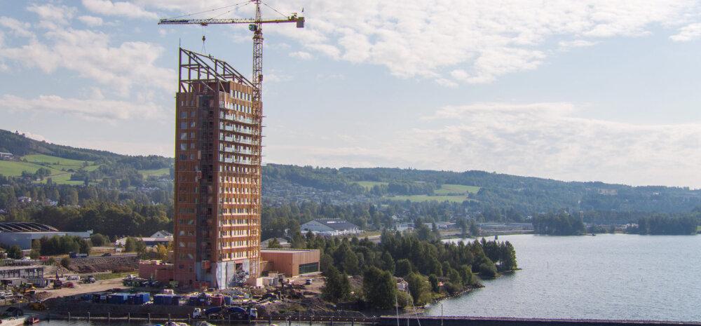 ФОТО И ВИДЕО | В Норвегии построили самый высокий в мире деревянный небоскреб