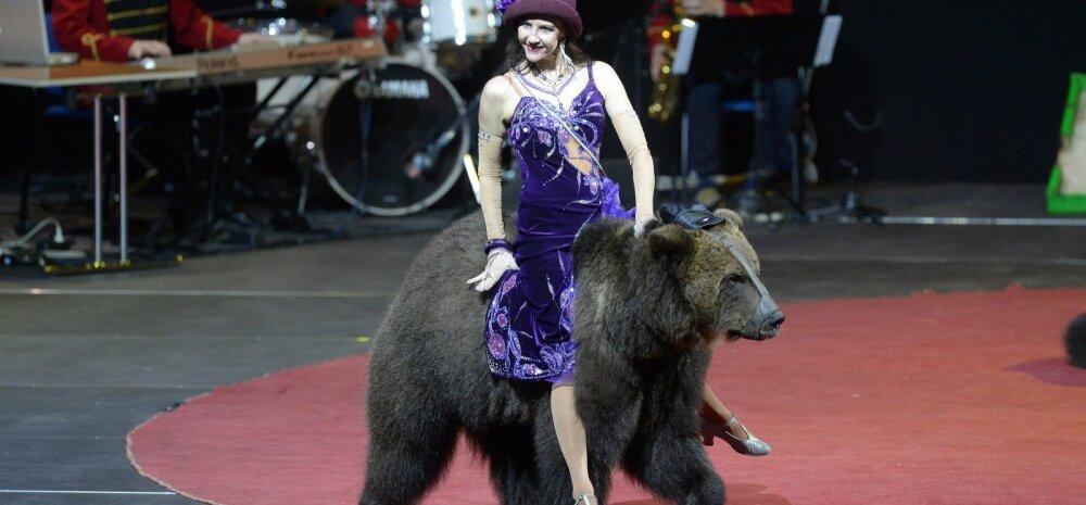 Riia ja Moskva tsirkus Saku Suurhallis