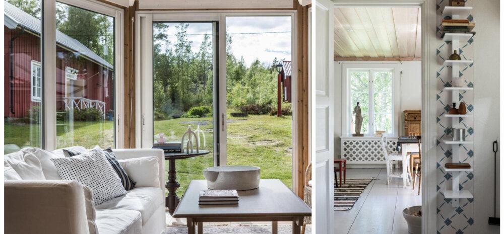 Lihtne ja armas suvekodu skandinaavialikus võtmes