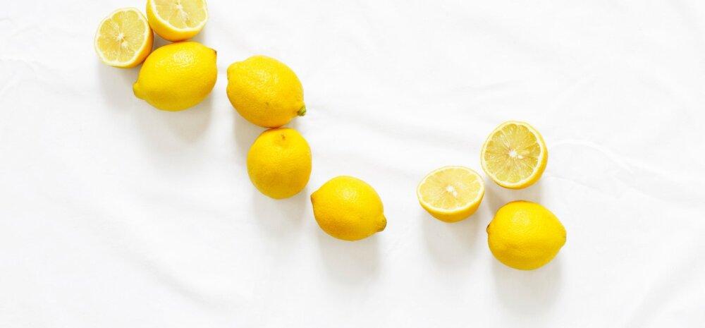 Ära viska sidrunikoort prügikasti! See on su tervise parim sõber