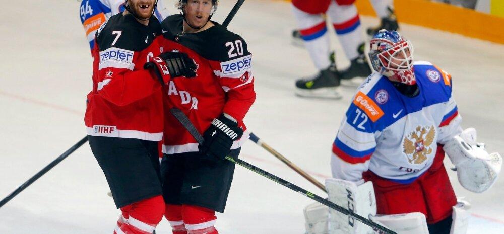 Jäähoki MM Venemaa vs Kanada