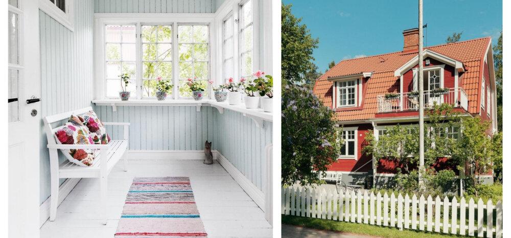 Põnevalt sisustatud ja oskuslikult renoveeritud maja möödunud sajandi algusest