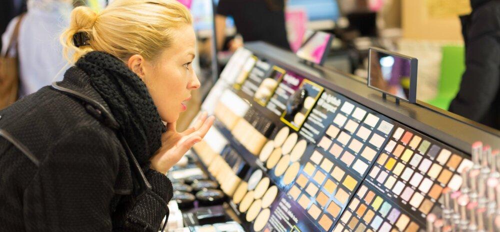 Kümme sammu, mis sind kosmeetikapoest otseteed pankrotti viivad
