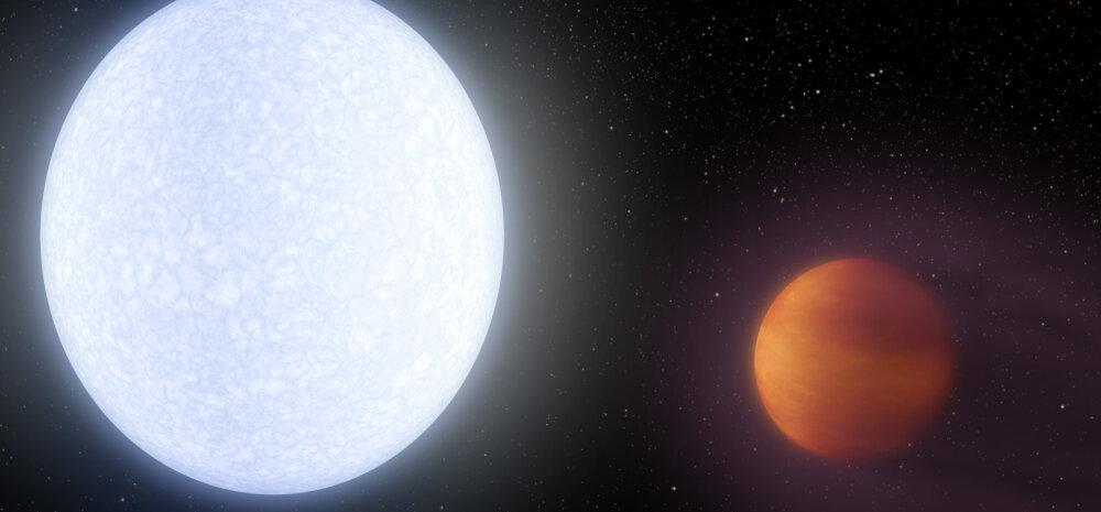 Ülikuuma eksoplaneedi temperatuur on nii kõrge, et selle atmosfääris on titaan ja raud gaasilises olekus