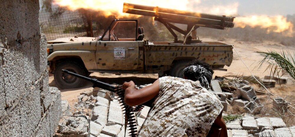 Vihane lahing Sirte linna pärast. Kas Islamiriik lüüakse tõesti Liibüast välja?
