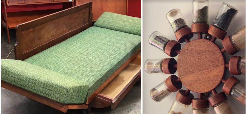 ВИДЕО | Интересная задумка! Невероятные примеры винтажной мебели-трансформера