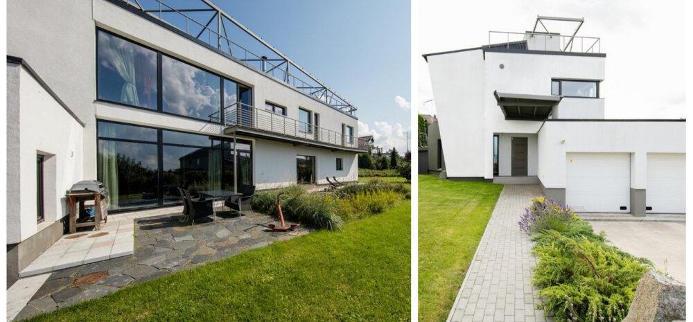 """Вилла """"Корабль"""": владелец эстонского бюро недвижимости выставил свой дом на продажу"""
