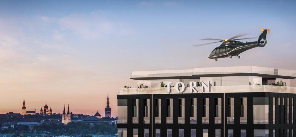 ФОТО | Эксклюзивный запрос клиента: на крыше дома с самой дорогой квартирой в Эстонии могут построить вертолетную площадку