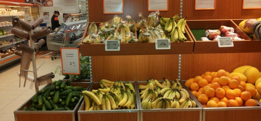 FOTOD: Jaekett võttis kasutusele lahenduse, mida seni Eesti toidupoodides nähtud pole