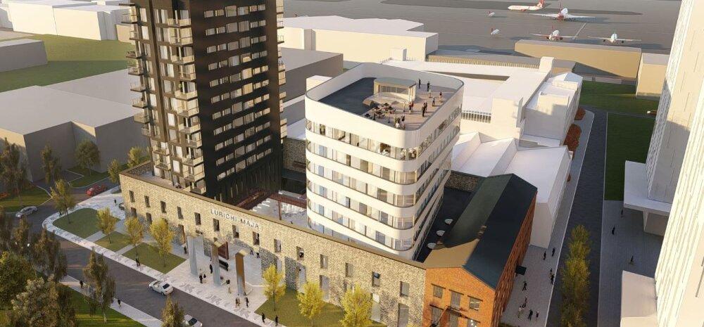 ФОТО | Смотрите, каким будет первый жилой дом в Ülemiste City