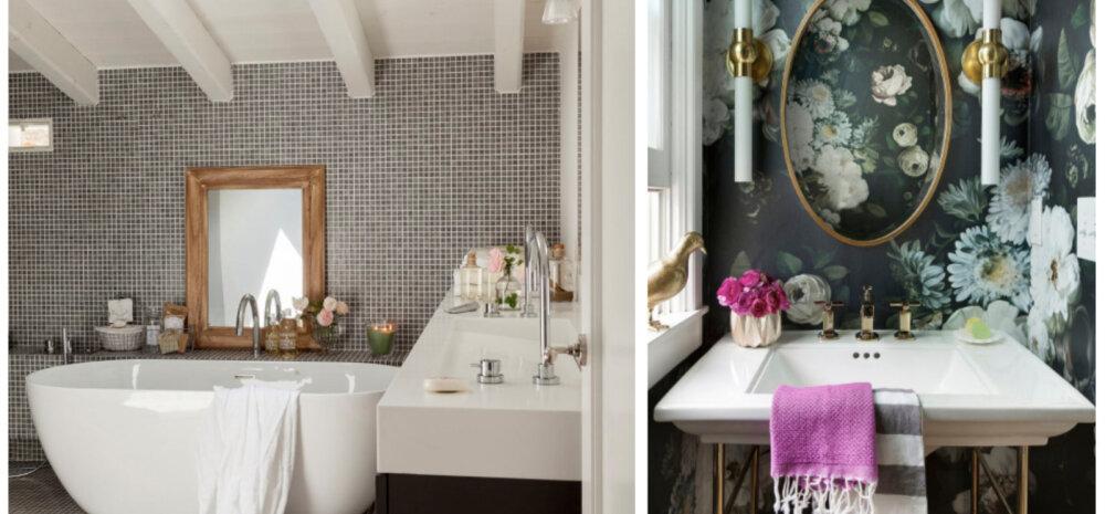 ФОТО | Ванная комната может быть и такой: идеи для вдохновения