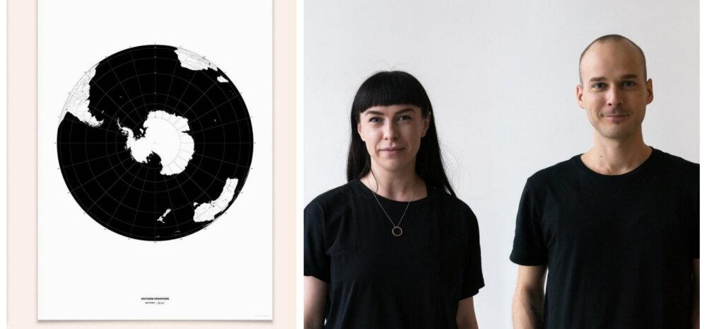 Eesti disainibränd Bold Tuesday: soojenev kliima muudab maakaarte