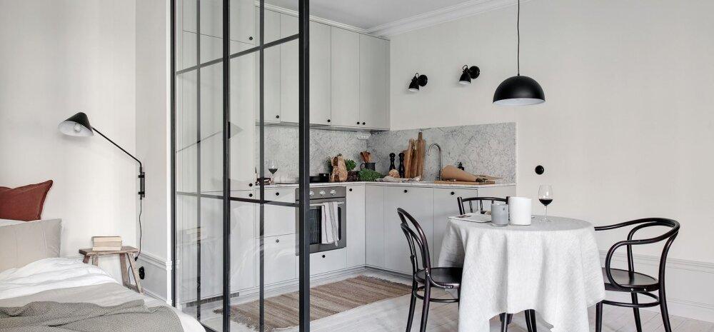 FOTOD │ Nutikate lahendustega täidetud väike ja valge kodu