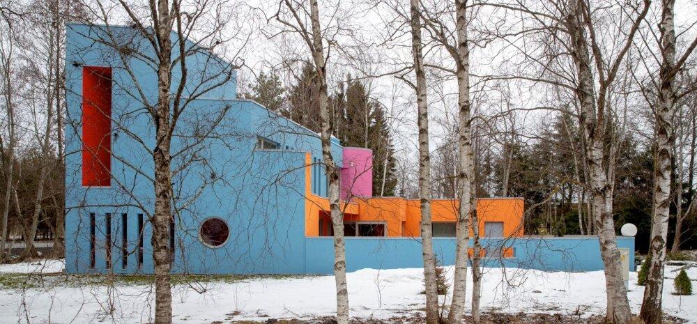 FOTOD | Arhitekt Vilen Künnapu loodud värvikas maja paneb möödujad peatuma