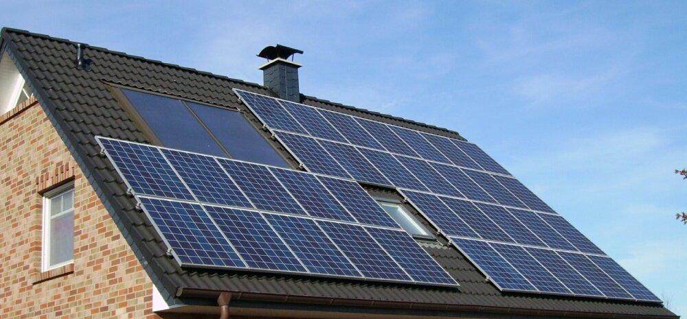 Более половины жителей Эстонии интересуются солнечными панелями. Почему?