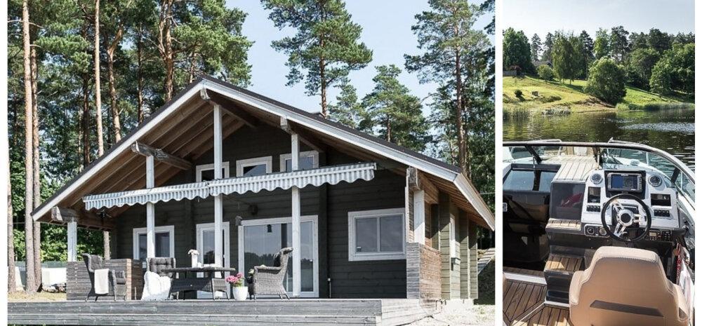ФОТО | Катер — не роскошь: дом с собственным причалом