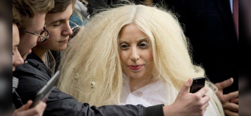Lady Gaga šokeeris kostüümidega Saksamaal