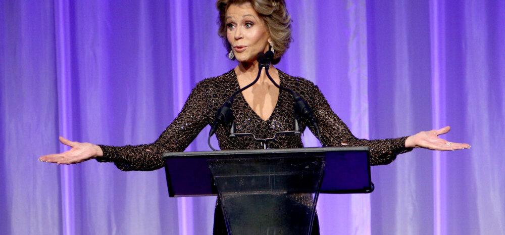 Jane Fonda: mul on 70ndates eluaastates parem seksuaalelu kui kunagi varem