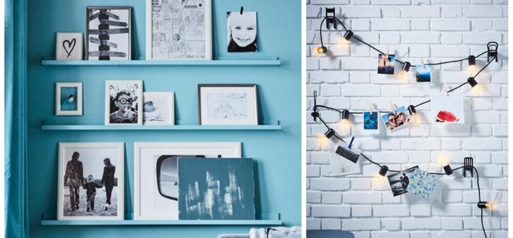 FOTOD | Lahedad ideed, kuidas fotodega kodu kaunistada