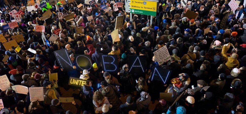 Immigratsioonikeelu meeleavaldused USAs