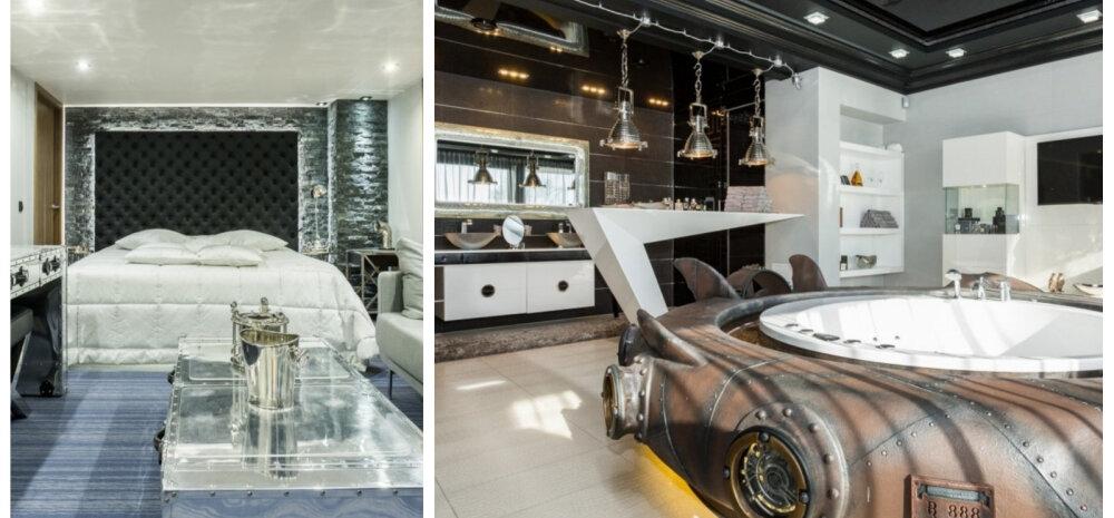 ФОТО │ Когда вместо ванны лодка: 6000 евро в месяц за аренду резиденции в Таллинне