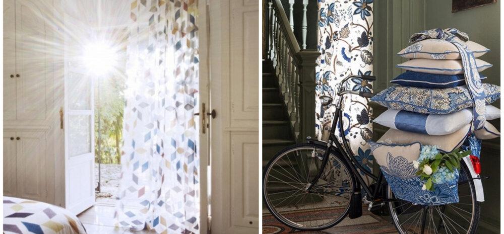 ФОТО │ Курортный стиль на окнах — примеры летних штор