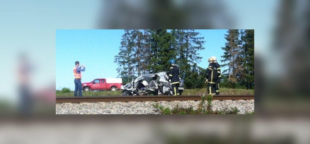 Õnnetus Raasiku ülesõidukohal