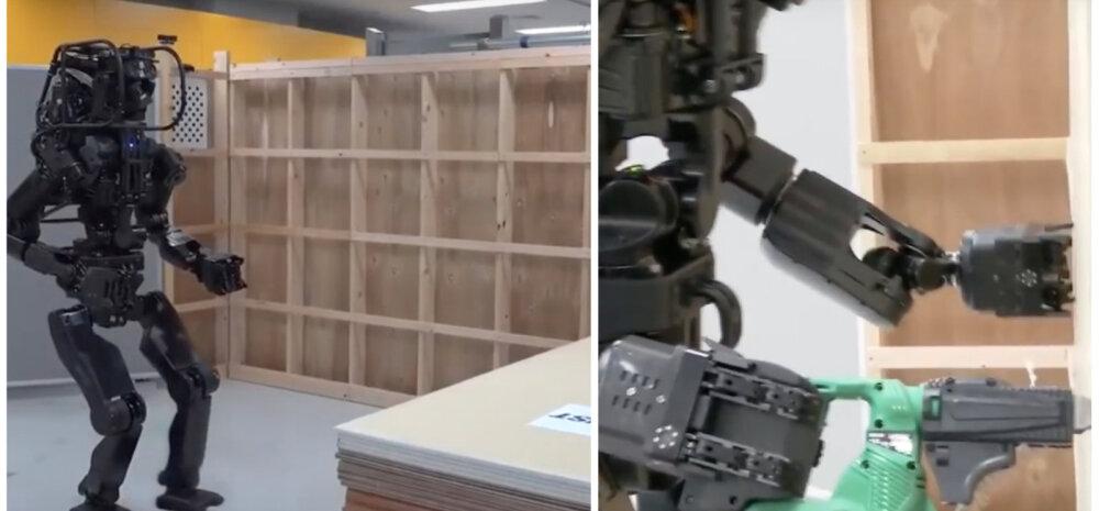ВИДЕО | Впечатляет: создан робот-строитель, который может в точности повторять движения человека