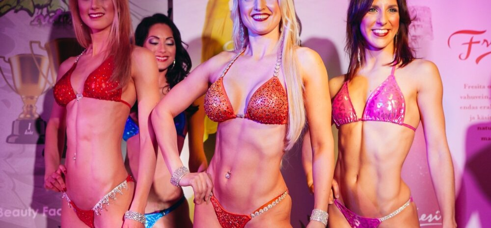 Galerii: Bikini fitnessi võistlejad demonstreerisid Butterfly lounge'is võistlusvormi!