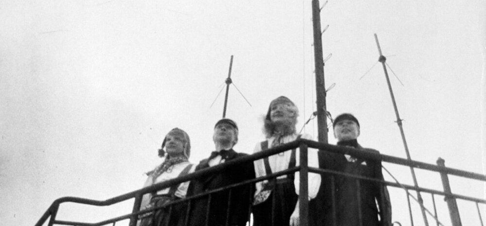 Rahvuslipu heiskasid Pika Hermanni torni Tallinna 54. keskkooli 7. klassi õpilane Helen Lepalaan, Tallinna 3. keskkooli 8. klassi õpilane Madis Laansalu, Tallinna 37. keskkooli 8. klassi õpilane Sille Triks (nüüd Tamm) ja Tallinna muusikakeskkooli 8. klas