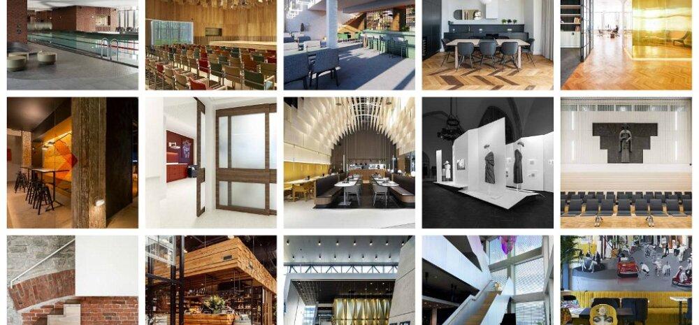ФОТО | От ресторана в Т1 до посольства Эстонии в Москве: эти эстонские интерьеры претендуют на звание лучших
