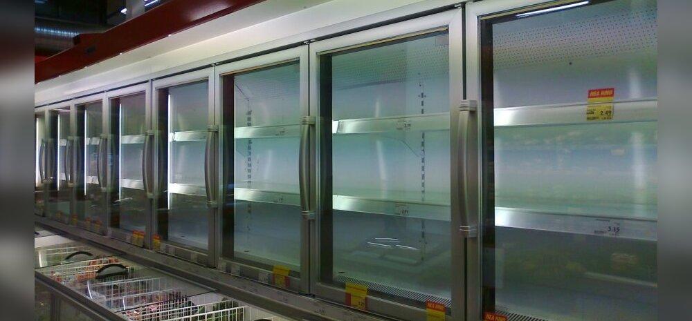 FOTO: Selveri jäätisevalik on suure kuumaga kasinaks jäänud