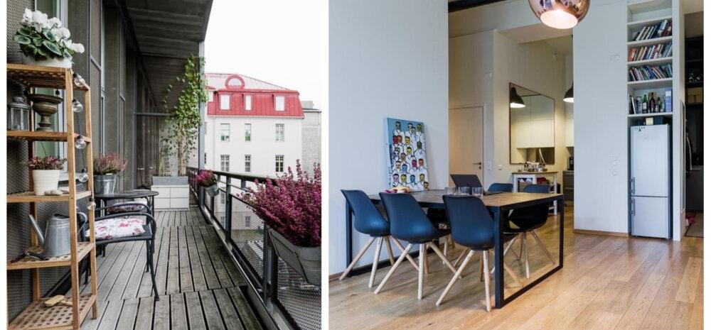 FOTOD | Isikupärane kodu endises Tallinna telefonikeskjaamas
