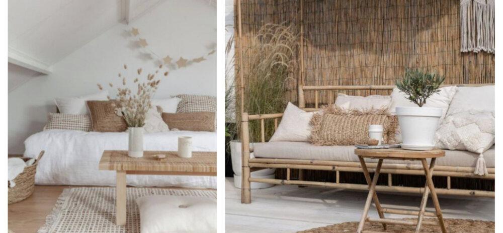 SISUSTUSTREND | Võluvalt boheemlaslik stiil sobib nii interjööri kui ka terrassile