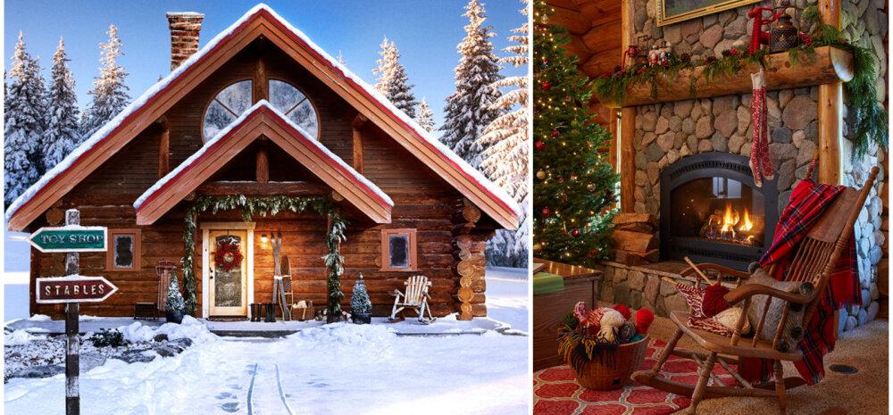 FOTOD   Vaata, milline näeb välja jõuluvana kodu interjöör