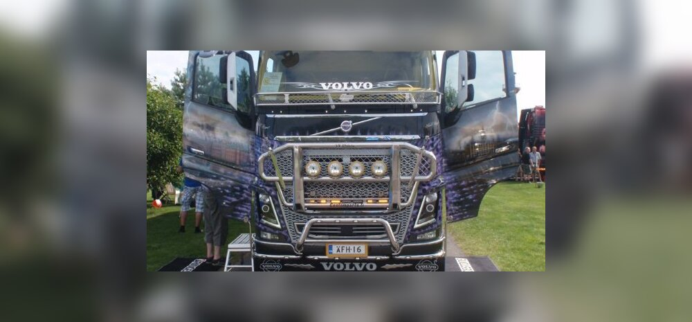 Võimsad masinad, palju metalset ilu: Eestis toimub esimene Baltic Truck Show!