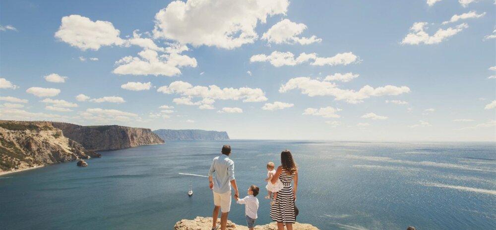 12 põhjust, miks reisida koos lastega