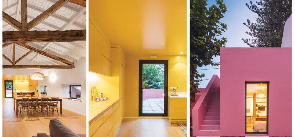 FOTOD | Moodne ja värvikas kodu roosas majas