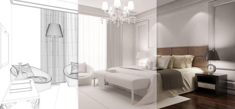 Pane kodu kujundamisel mõõtkava ja proportsioonid paika