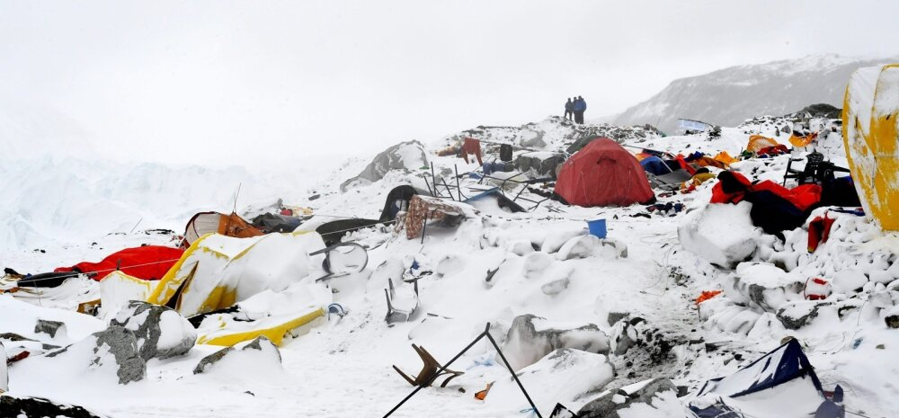 Mesinädalatel Briti abielupaar sattus Everestil Nepali maavärina tekitatud laviini kätte