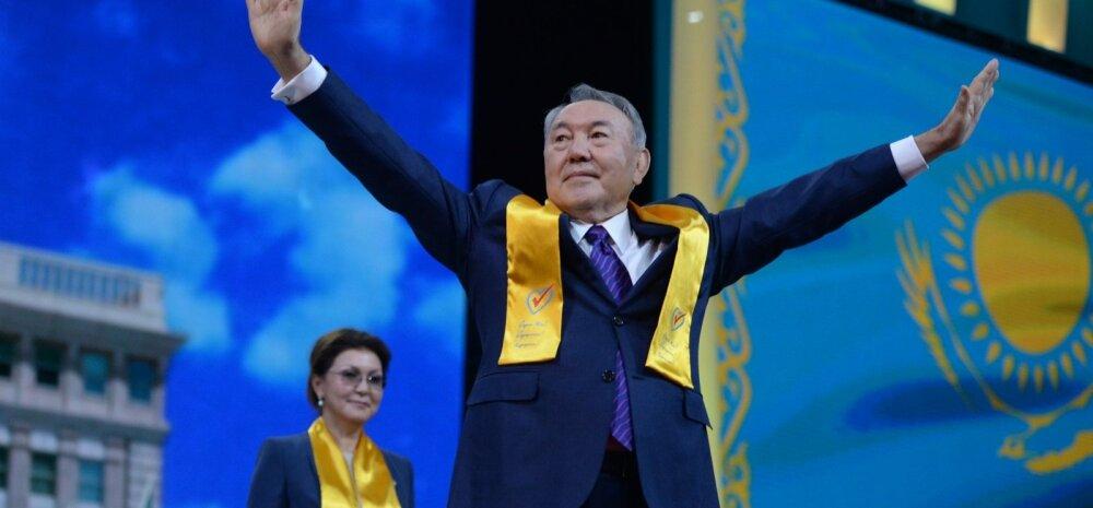 Nazarbajev vabandas 98-protsendise häältesaagi eest: ma ei saa midagi parata, kui sekkuksin, oleksin ebademokraatlik
