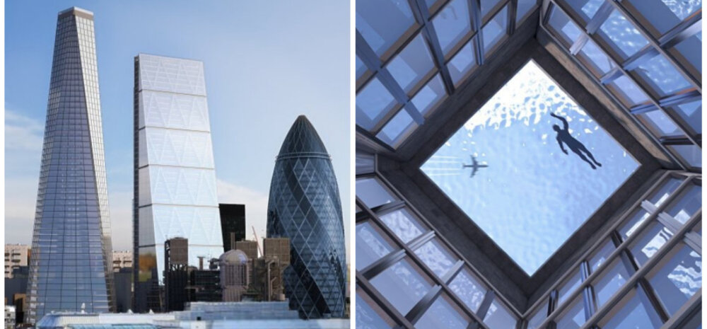 ФОТО │ Впервые в мире крыша небоскреба станет бассейном с обзором на З60°