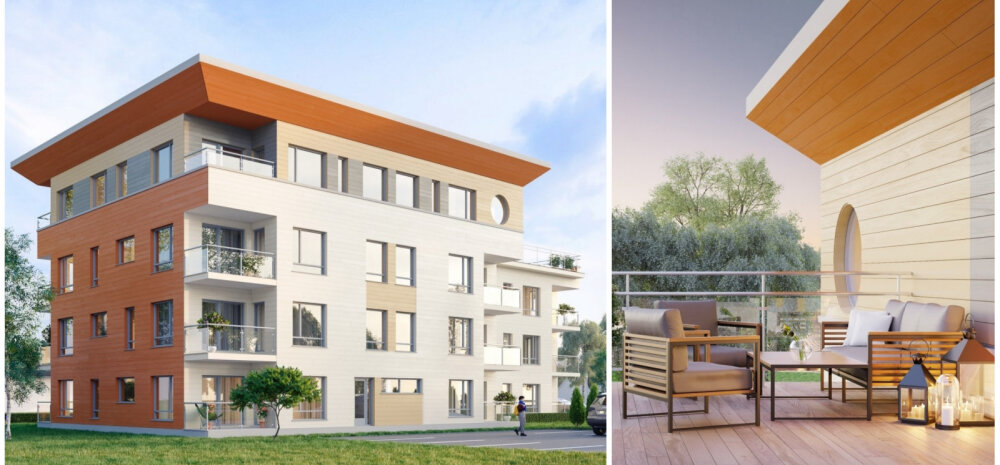 ПРОЕКТ | Таких в Эстонии нет: в Пярну построят экологичный многоквартирный дом