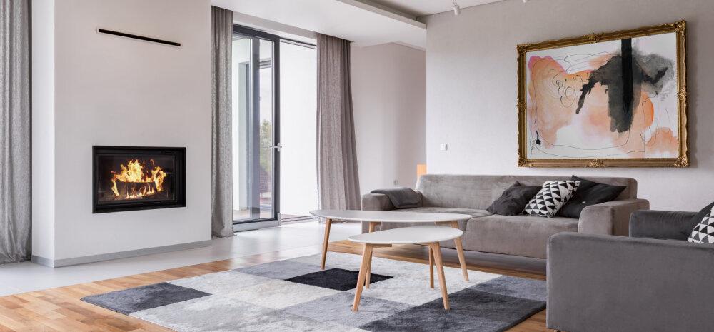 20 ideed — modernne kamin sulandub hästi kaasaegsesse interjööri