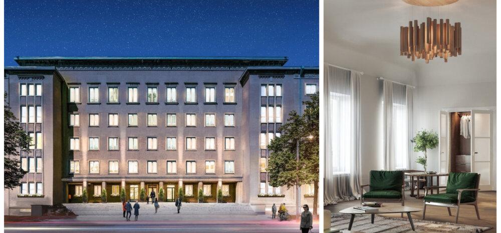 ФОТО | Словно горячие пирожки: активная продажа квартир в бывшем здании Министерства социальных дел