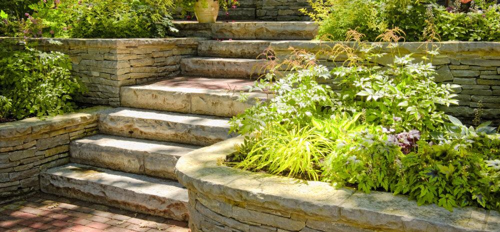 FOTOD │ Lahedad ideed, kuidas kividega õueruumi kaunistada