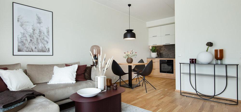 FOTOD | Puhas ja minimalistlik kodu Pikaliiva kvartalis võlub funktsionaalsete lahendustega