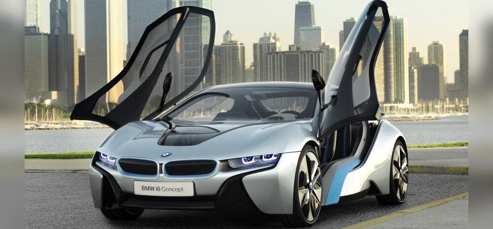 BMW i8. Foto: BMW / techyhunt.com