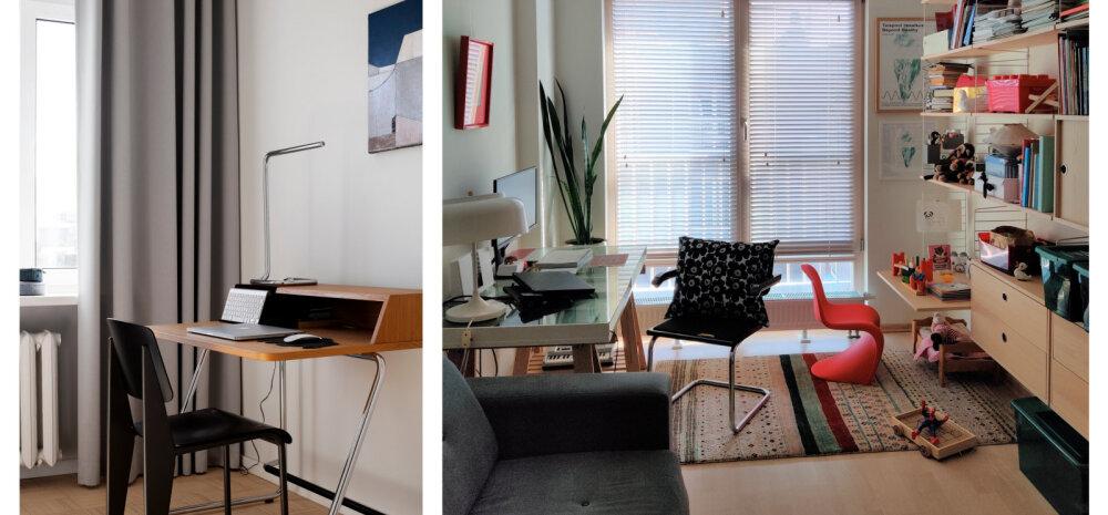 FOTOD | Vaata, millistes kodukontorites teevad tööd Eesti sisearhitektid